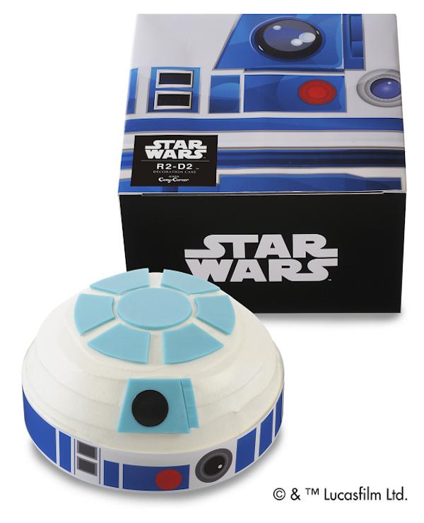 Des gâteaux en hommage à Star Wars