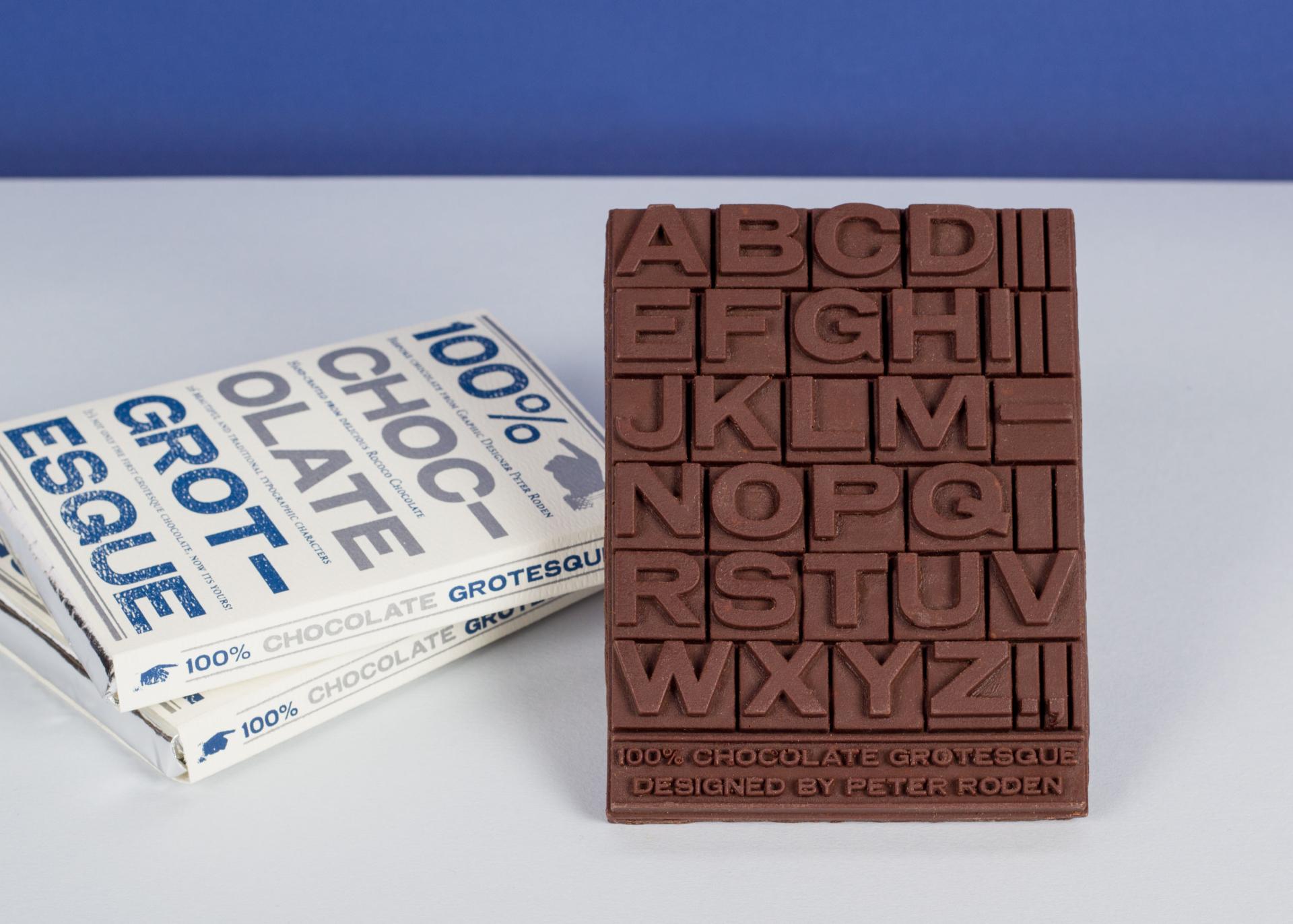 CV en chocolat