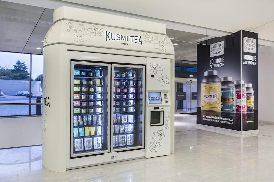 Le KusmiKiosk par Kusmi Tea