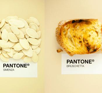 Les spécialités siciliennes en Pantone !