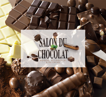 Le Salon du Chocolat revient à Paris, du 28 octobre au 1er novembre 2015 !