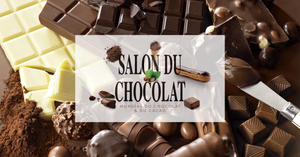 Le salon du chocolat revient paris du 28 octobre au 1er for Salon du digital