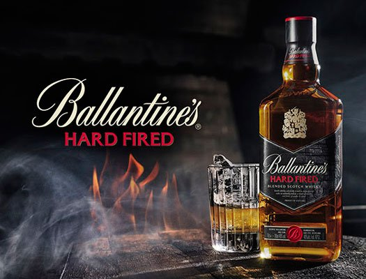 Le Ballantine's Hard Fired