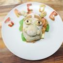 Un repas créatif dans une assiette food