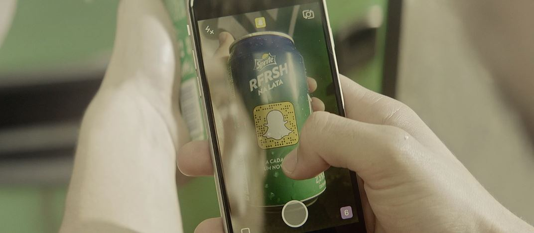 Sprite & Snapchat connectent les influenceurs pour une opération
