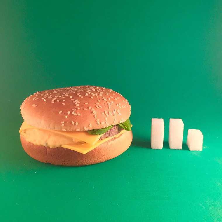 Sucre dans Burger