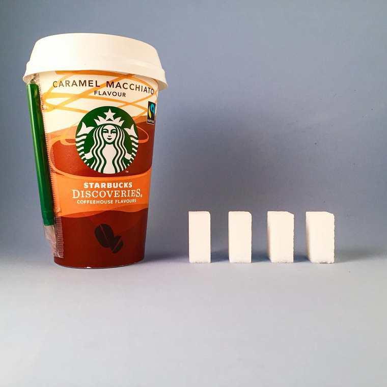 Sucre dans Starbucks