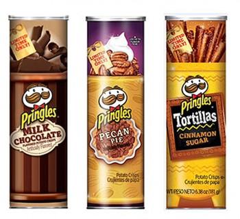 Des Pringles au goût sucré !