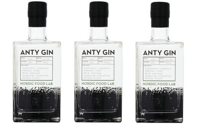 Le gin à base de fourmi