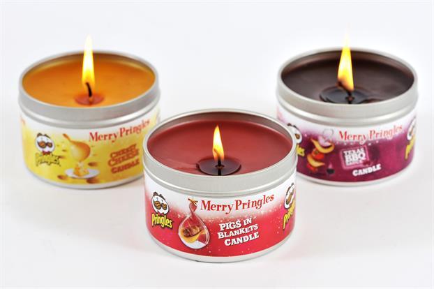 Des bougies Pringles