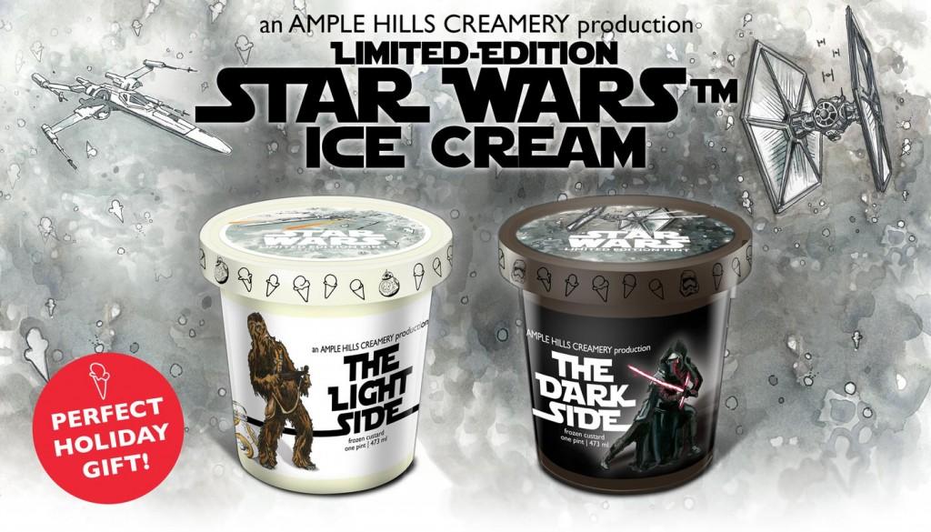 Les glaces Star Wars pour la sortie du nouvel épisode