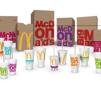 McDonald's dévoile de nouveaux emballages pour 2016