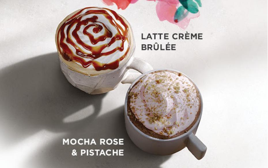 Les nouvelles saveurs de Starbucks en France