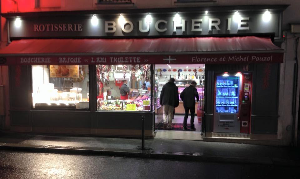 Le premier distributeur de viande à Paris !