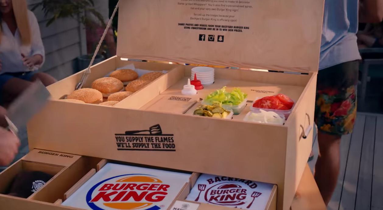 Burger King jardin