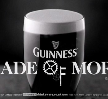 """Guinness lance sa campagne """"Made of More"""""""