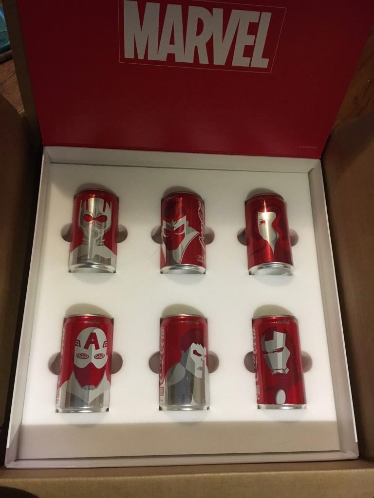 Coca-Cola se transforme en Marvel