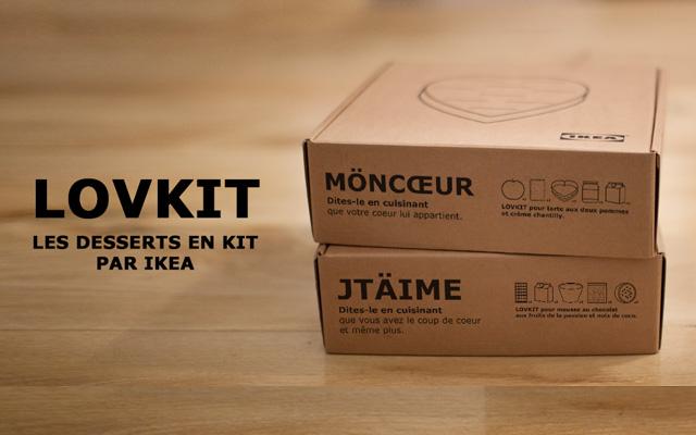 Le LOVKIT d'IKEA pour la Saint-Valentin !