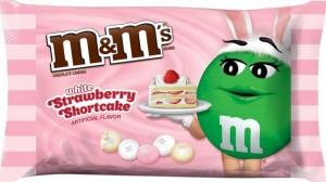 M&M's fraise chocolat blanc