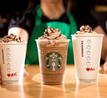 Des nouvelles boissons en édition limitée chez Starbucks pour la Saint-Valentin