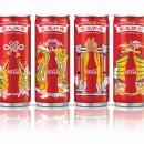 Nouvelles canettes Coca