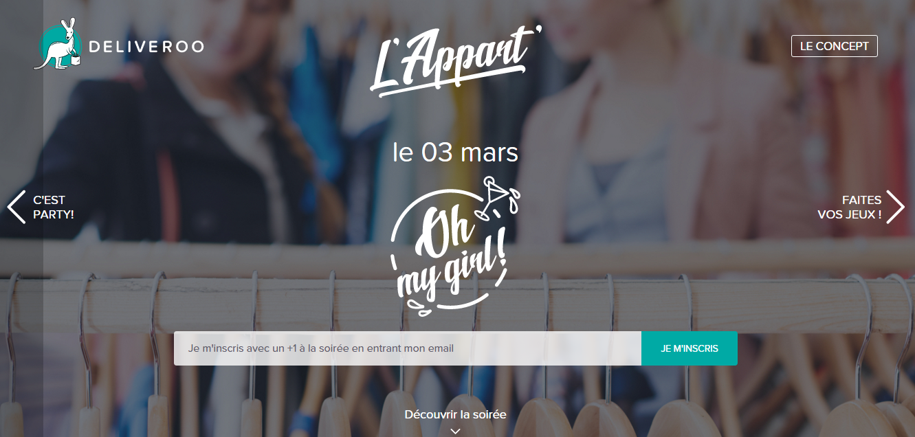L'Appart Deliveroo