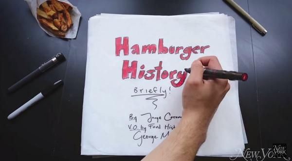 L'histoire du hamburger
