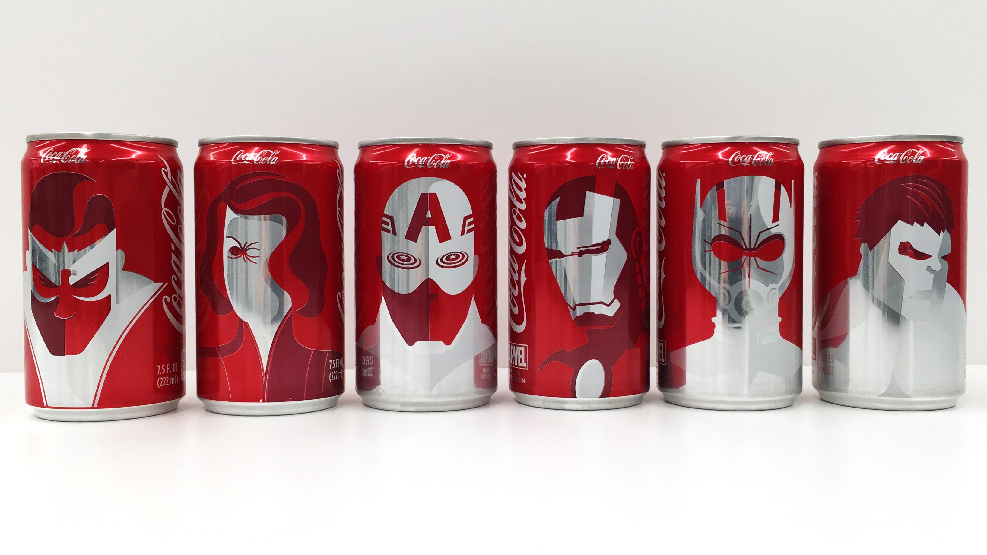 Coca-Cola s'empare des héros Marvel pour le Super Bowl