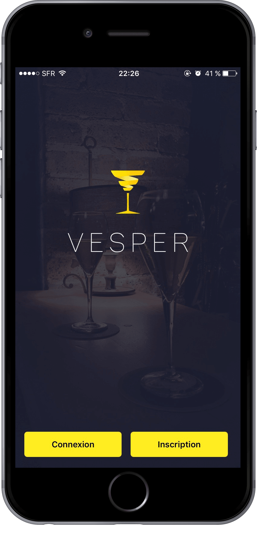 Une application pour un apéro à la demande avec Vesper