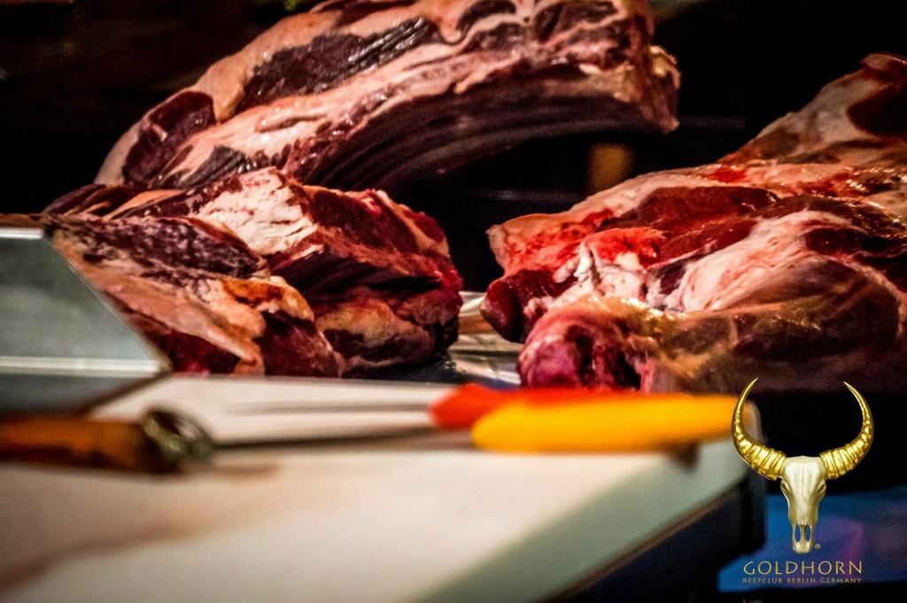 Le Goldhorn-Beefclub avec du boeuf