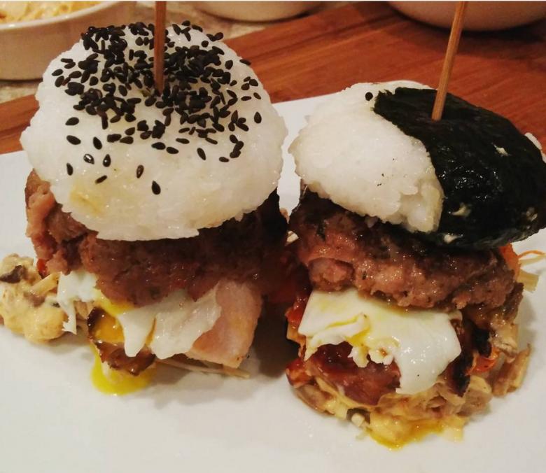 Burger à base de sushi