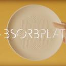 absorbplate assiette gras