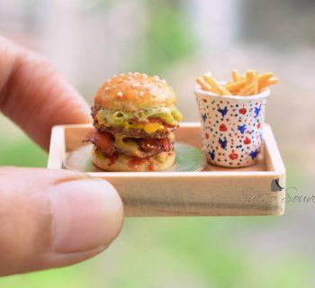 De micros sculptures food