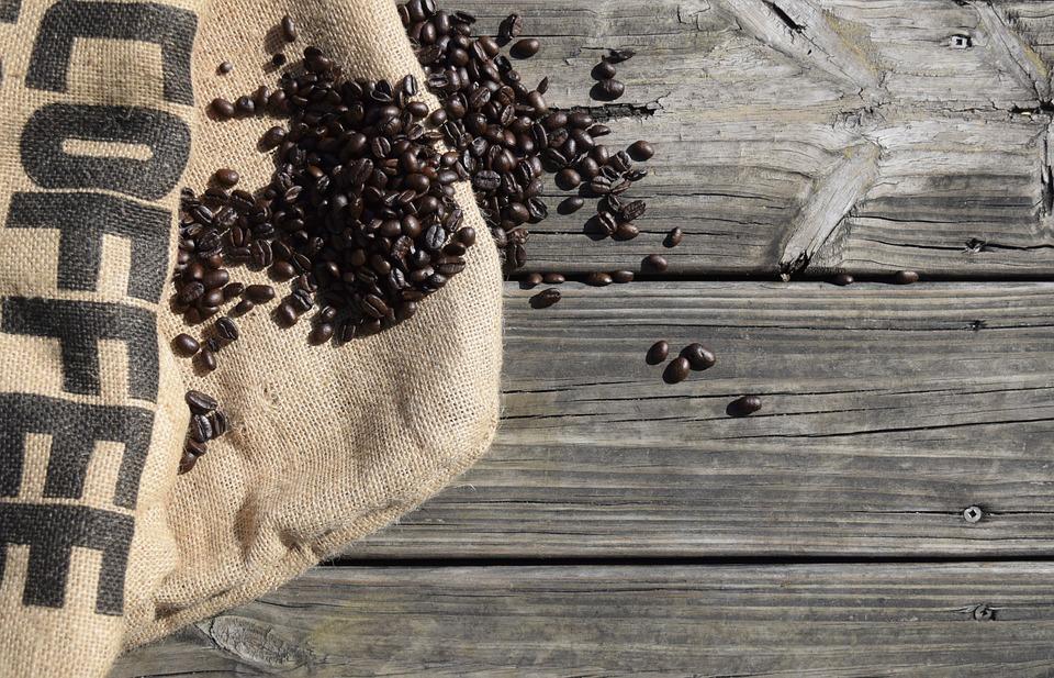 Un sac de café