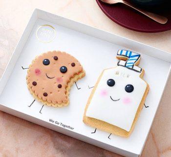 Le duo inséparables cookie/lait
