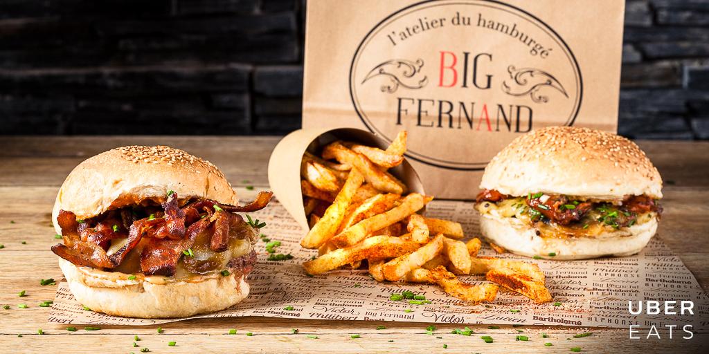 Big Fernand x UberEATS